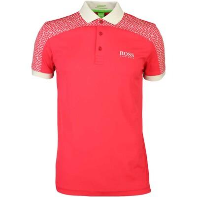 Hugo Boss Golf Shirt Paddy Pro 2 Rococco Red SP16