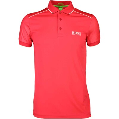 Hugo Boss Golf Shirt Paule Pro 2 Rococco Red SP16
