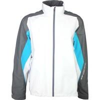 Galvin Green Waterproof Golf Jacket - ASTON White