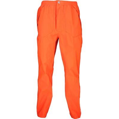 Galvin Green Waterproof Golf Trousers AUGUST Red Orange