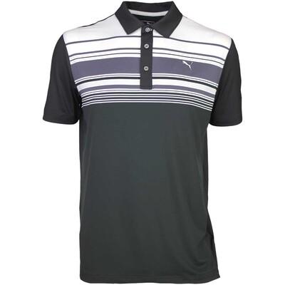 Puma Golf Shirt Key Stripe Black SS16