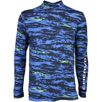 Cherv242 Golf Base Layer Shirt TUTTOK Blue Camo SS16