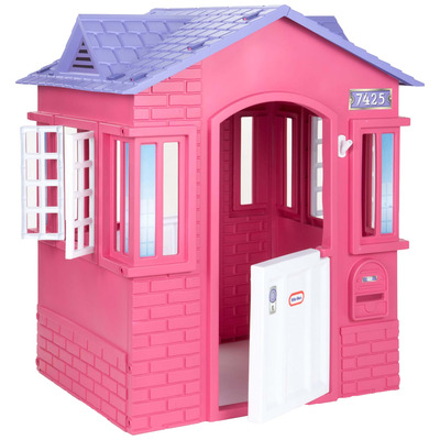 Cape Cottage Playhouse Pink   UK Mainland Delivery Only