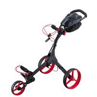 Big Max IQ Plus Golf Trolley - Black/Red