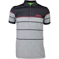 d3b176b7d Hugo Boss Golf Shirt 8211 Paddy Pro 2 Black PF16 BOSS Fashion mens ...