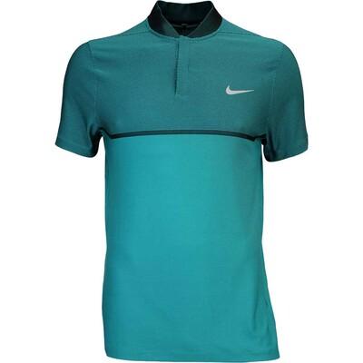 Nike Golf Shirt MM Fly BLADE Block Alpha Rio Teal AW16
