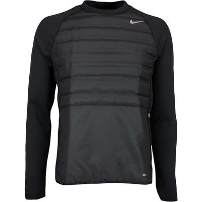 Nike Golf Pullover Aeroloft Hyperadapt Crew Black AW16