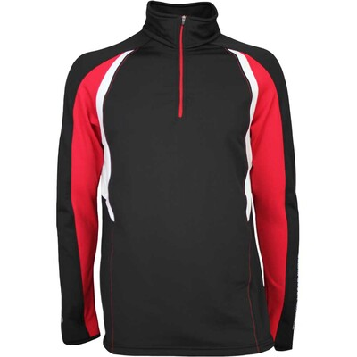 Galvin Green Golf Pullover DONALD Insula Black Red AW16