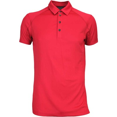 Galvin Green Golf Shirt MOORE Ventil8 Electric Red AW16
