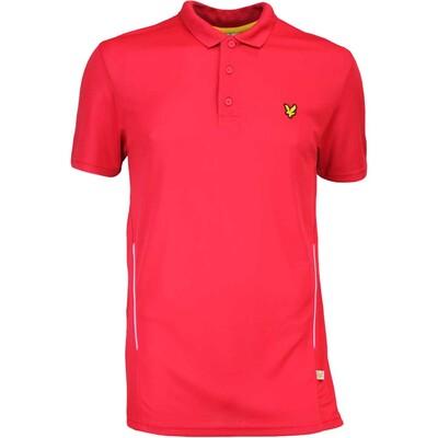 Lyle Scott Golf Shirt Falahill Bright Red AW16