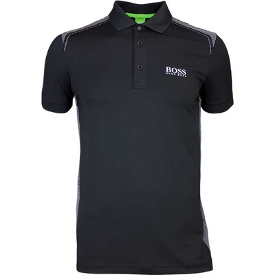 Hugo Boss Golf Shirt Paddy Pro 3 Black FA16