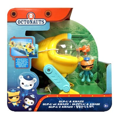 Octonauts Gup-U And Kwazii