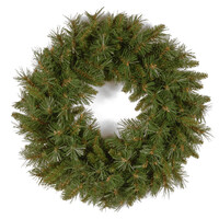 """Tiffany Fir PVC Artificial Christmas Wreath 24"""" by National Trees"""