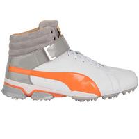 Puma Golf Shoes - TitanTour Ignite Hi-Top SE - White - Orange
