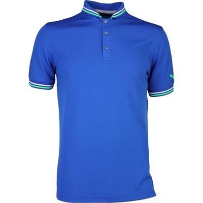 Puma Golf Shirt Tailored Baseball True Blue SS17