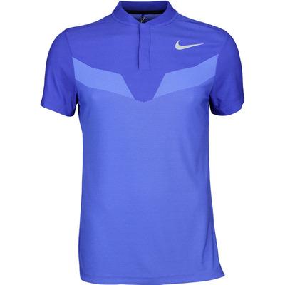Nike Golf Shirt Zonal Cooling MM Fly Blade Deep Night SS17