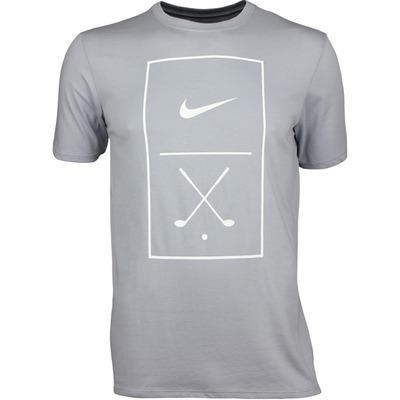 Nike Golf T Shirt NGC Graphic Tee Wolf Grey SS17