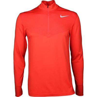 Nike Golf Pullover NK Dry Half Zip Max Orange SS17