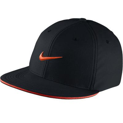 Nike Golf Cap Aerobill True Statement Black Max Orange SS17