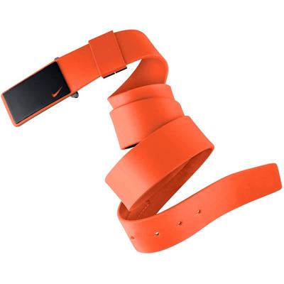 Nike Golf Belt Sleek Plaque Max Orange SS17