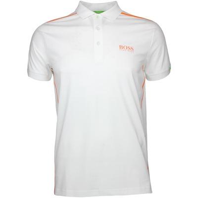 Hugo Boss Golf Shirt Paddy MK 2 Training White SP17