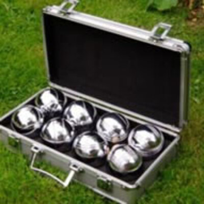 Garden Games Boules (in metal box) (Code 402)