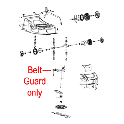 COBRA Cobra Belt Guard Protecting Cover 25255800102