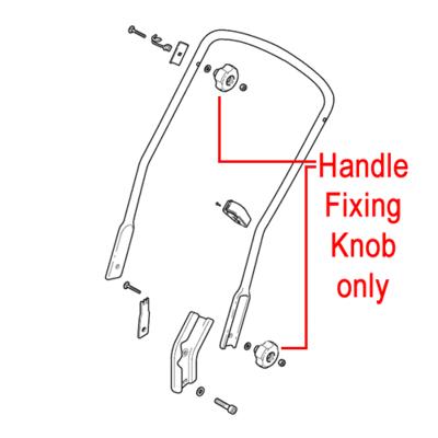 Mountfield Mountfield Handle Fixing Knob 322399810/0