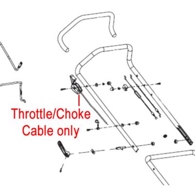 COBRA Cobra Throttle / Choke Cable 29100102902