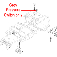 AL-KO Ride On Pressure Switch (Grey) 514327