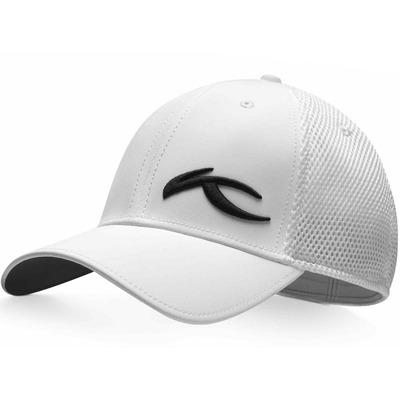 KJUS Golf Cap 3D MESH White SS17