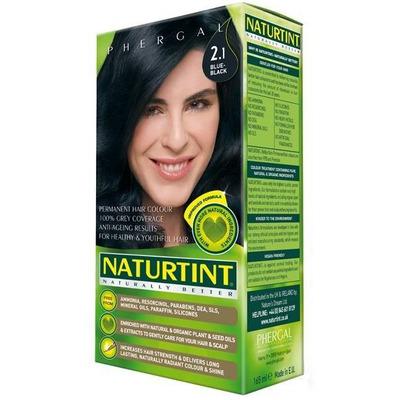 Naturtint Permanent Natural Hair Colour - 2.1 Blue Black 170ml