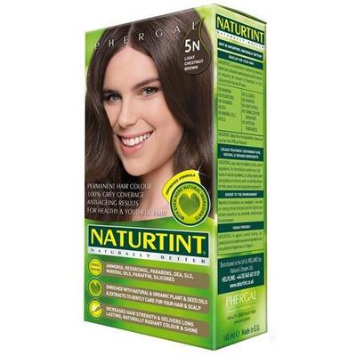 Naturtint Permanent Natural Hair Colour 5N Light Chestnut Brown 170ml