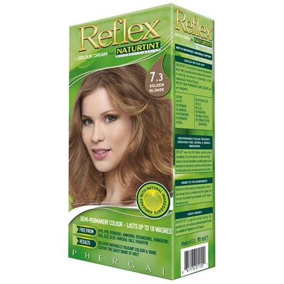 Naturtint Reflex Non-Permanent Colour Rinse 7.3 Golden Blonde 90ml