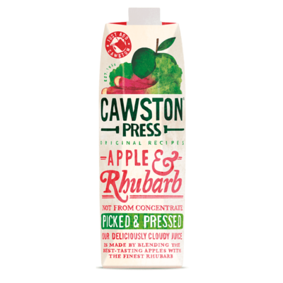 Cawston Press Apple & Rhubarb Juice 1 Litre