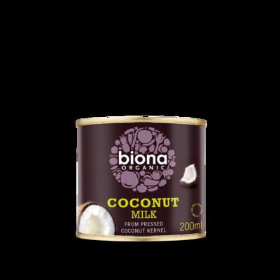Biona Organic Coconut Milk 200ml
