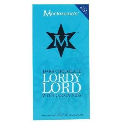 Montezumas Dark Chocolate Lordy Lord Bar 100g
