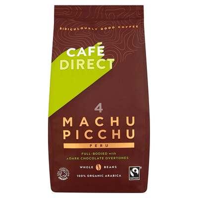 Cafedirect Organic Machu Picchu Beans 227g