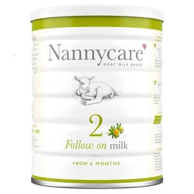 NANNYcare Follow On Milk Stage 2 900g