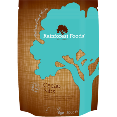 Rainforest Foods Organic Cacao Nibs 300g