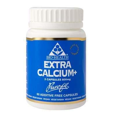 Bio Health Extra Calcium 60 Capsules