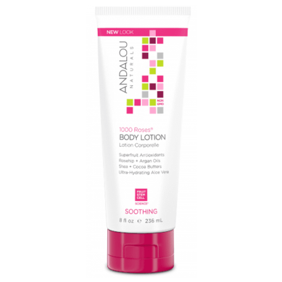 Andalou Naturals 1000 Roses Soothing Body Lotion 236ml