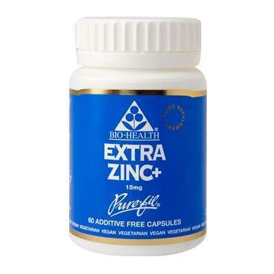 Bio Health Extra Zinc Plus 60 Capsules