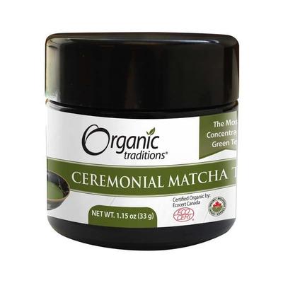 Organic Traditions Gluten Free Ceremonial Matcha Tea 33g