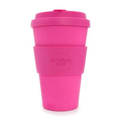 Ecoffee Pink'd Reusable Travel Cup