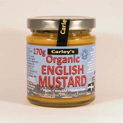 Carley's Organic English Mustard 170g