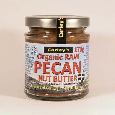 Carley's Organic Pecan Butter 170g