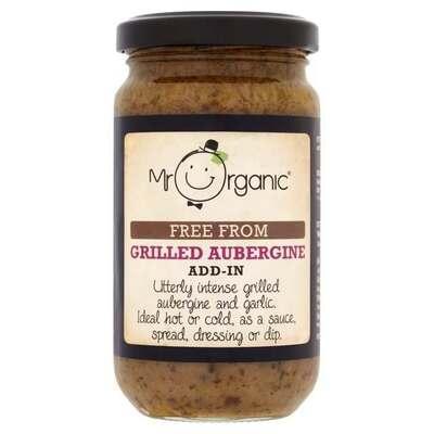 Mr Organic Grilled Aubergine Add-In Sauce 190g