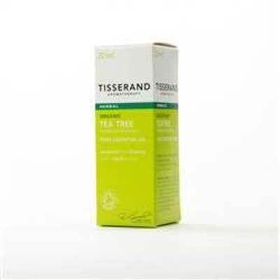 Tisserand Aromatherapy Organic Tea Tree Essential Oil 20ml