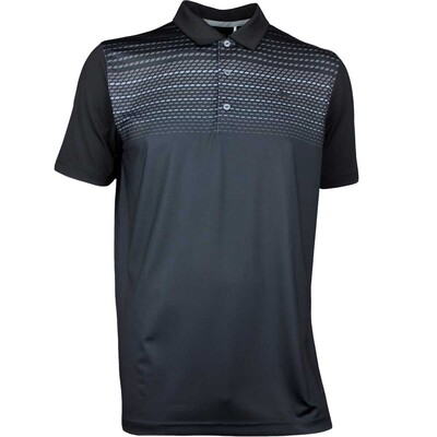 Puma Golf Shirt SS Road Map Black AW17